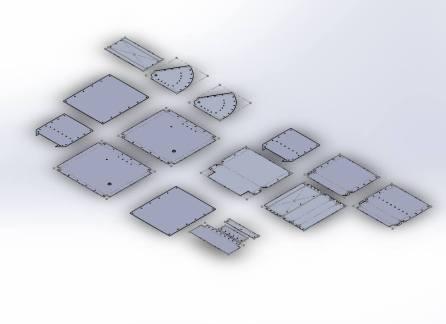 sheet-metal-layout-model